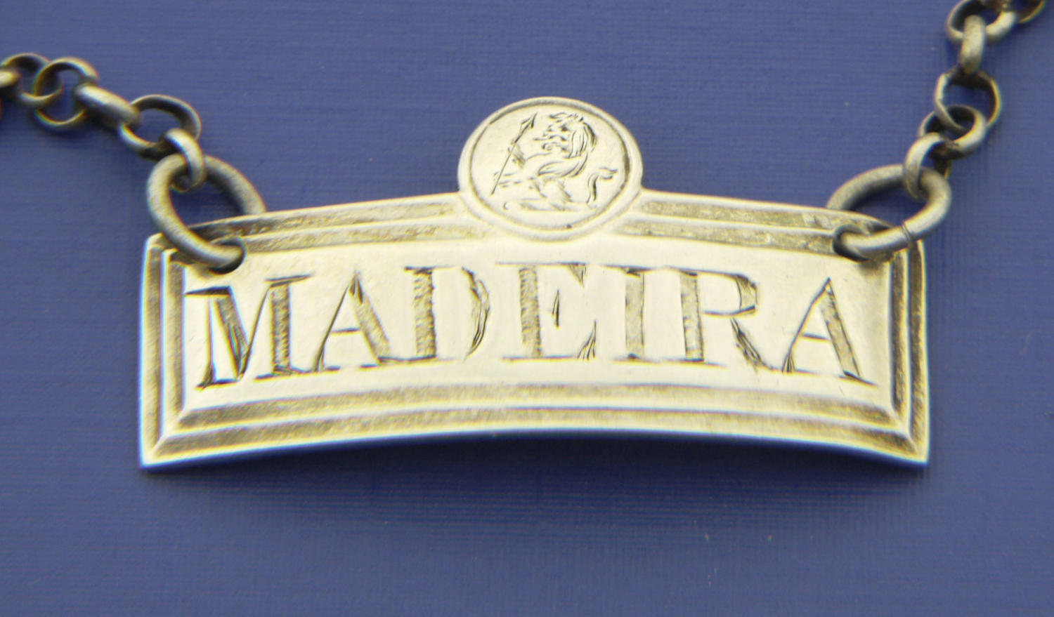 5083 A small rectangular wine label for Madeira