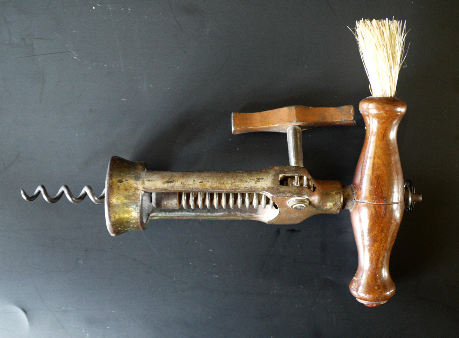 A 'London Rack' corkscrew