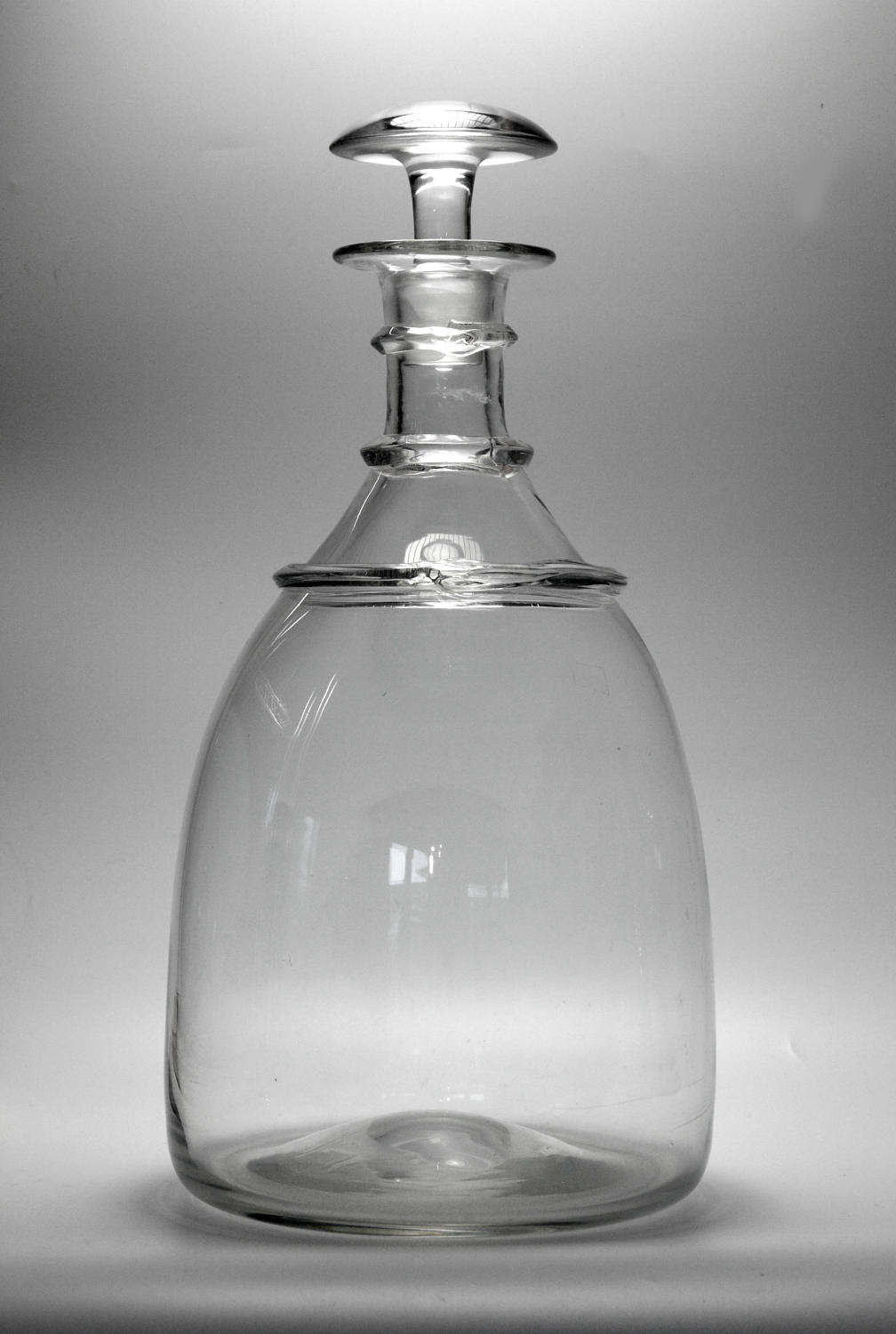 A massive decanter of 'Imperiale' size