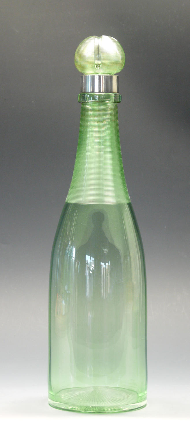 A fine and unusual champagne decanter
