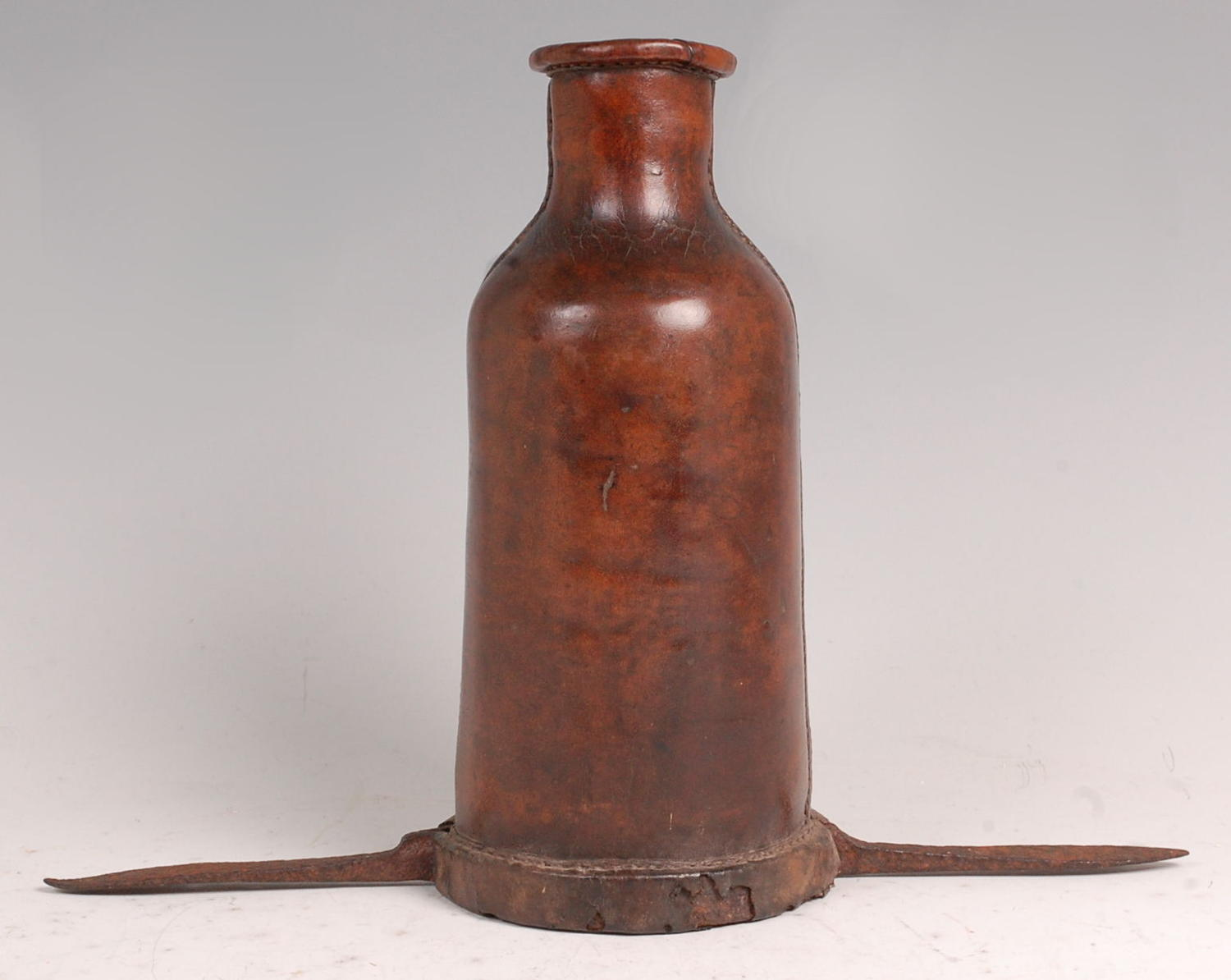 A rare leather 'bottle boot'