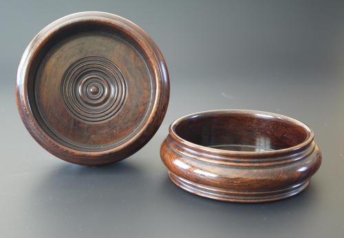 A good pair of rosewood coasters