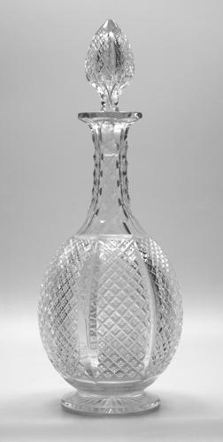 6598 A fine late 19th century cut decanter