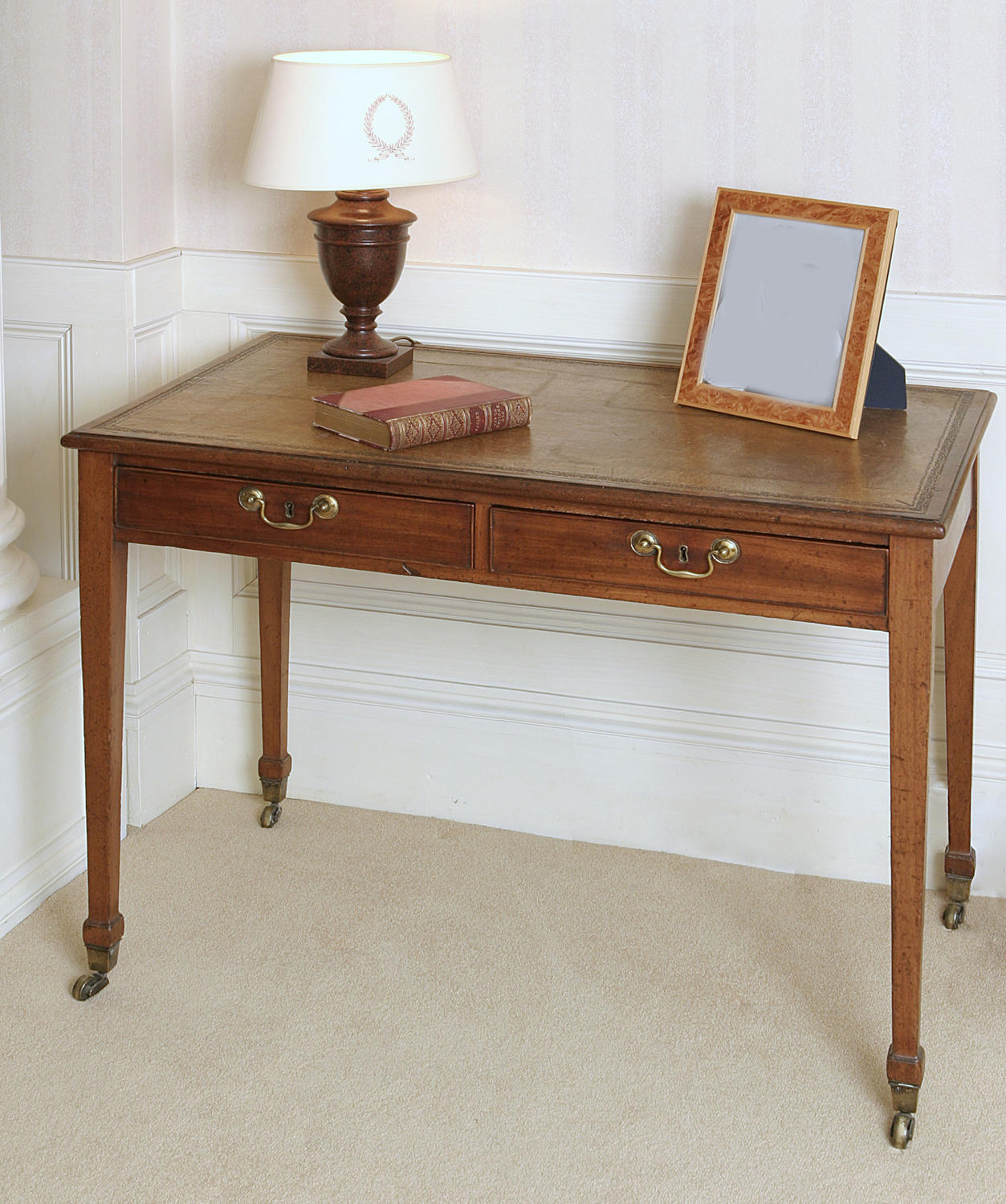 9332 A good early George III writing table