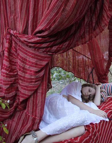 Mallorquin bed canopy 19th century