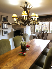 The Old Baker's House - Now a cosy Dining Room