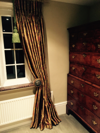 Silk for this Gentleman Dressing Room