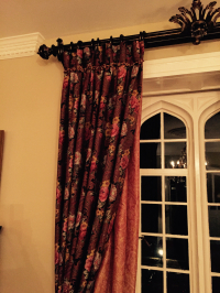 Grand House Curtain Treatment