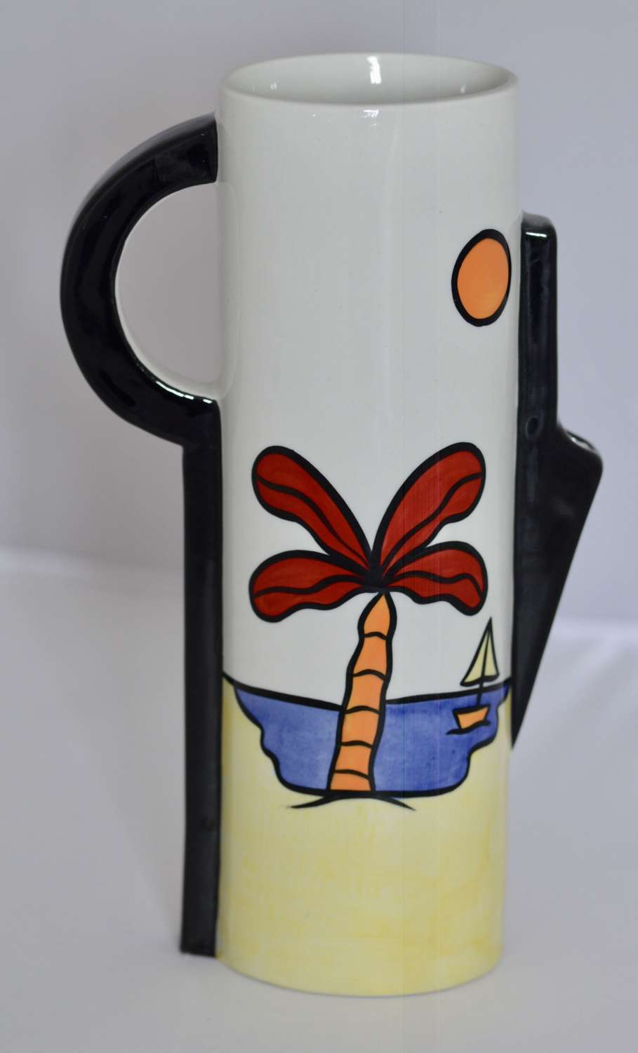 Lorna Bailey Large Jug - Tropicanna Design