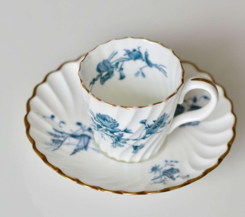 Minton Demi Tasse Cup & Saucer C.1891