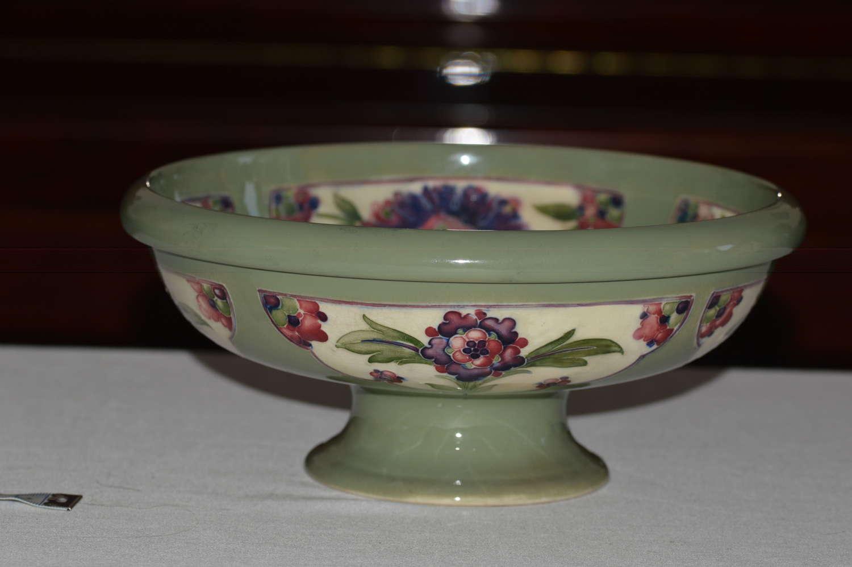 A Stunning Moorcroft Persian Pattern Pedestal Bowl, circa 1918