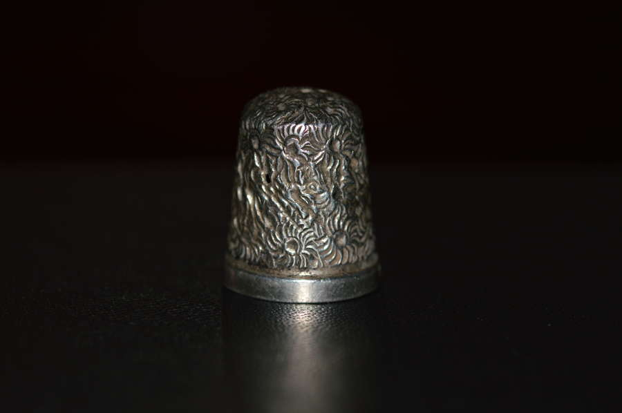 Victorian Silver Thimble, by Henry Griffith & Sons, Chester 1887