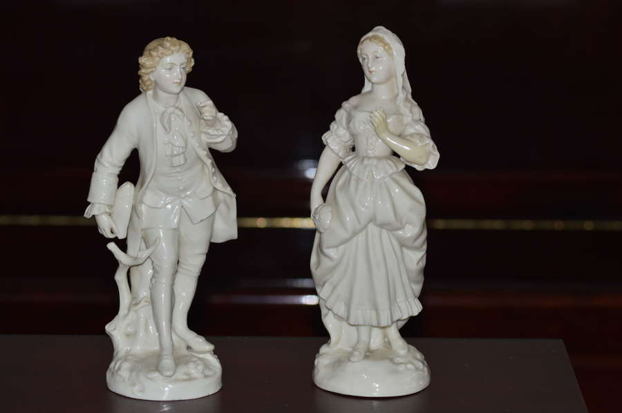 Two 19th Century Continental Porcelain Figures
