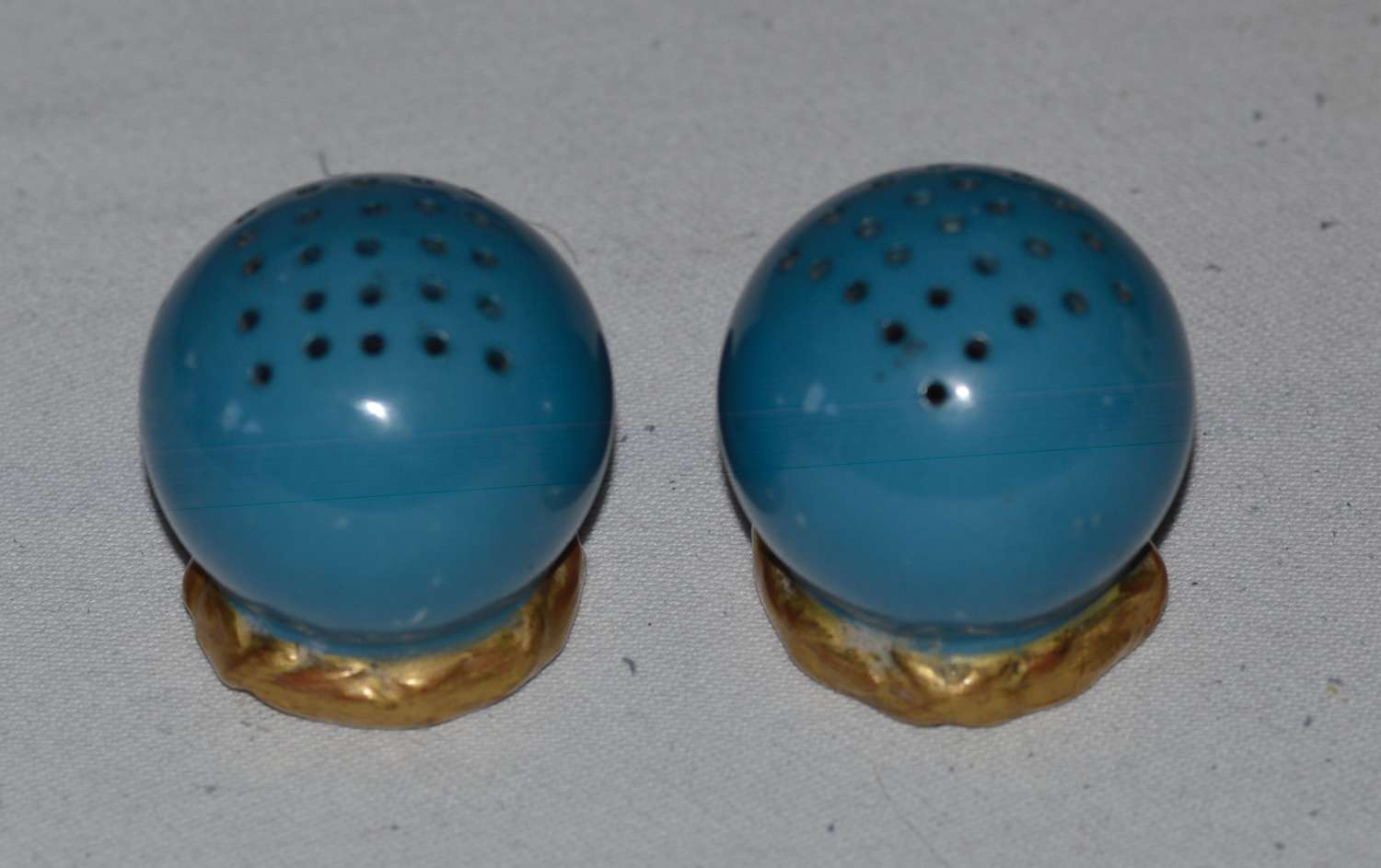 Early 20th Century Royal Worcester Ceramic Salt & Pepper