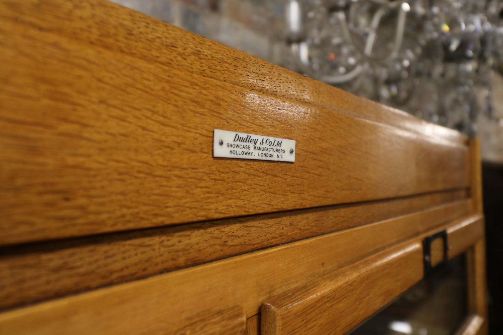 Image showing a fine finish for a piece of antique drawer furniture.