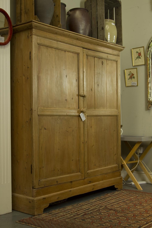 Antique Pine Larder Cupboard