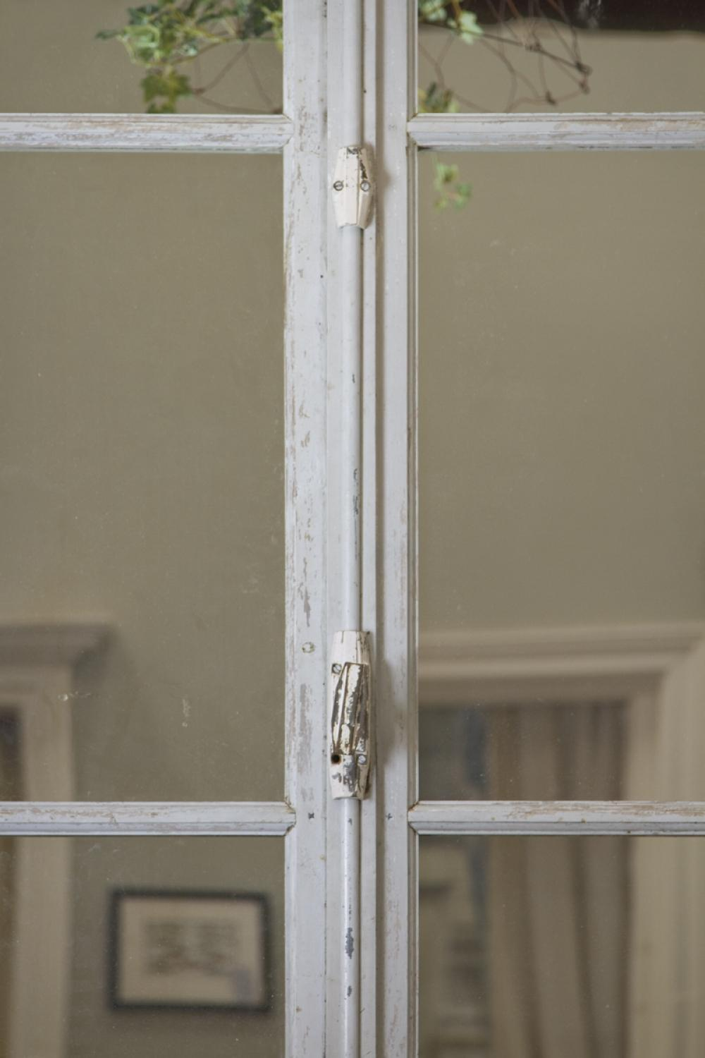 Pair of Vintage French Door Mirrors