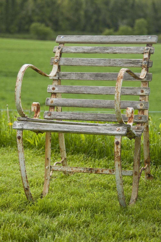Pair of Antique Garden Chairs