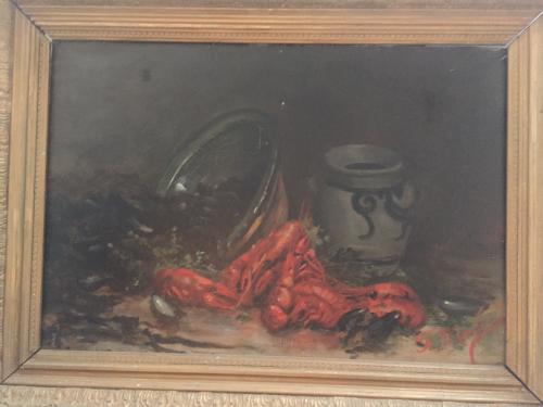 French 19thC 'Moules et Crevettes'
