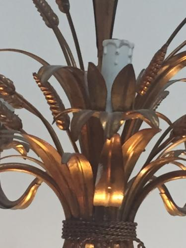 1960 's French Sheaf Light Fitting