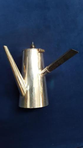 Asprey of London Silver Plate Chocolate Pot