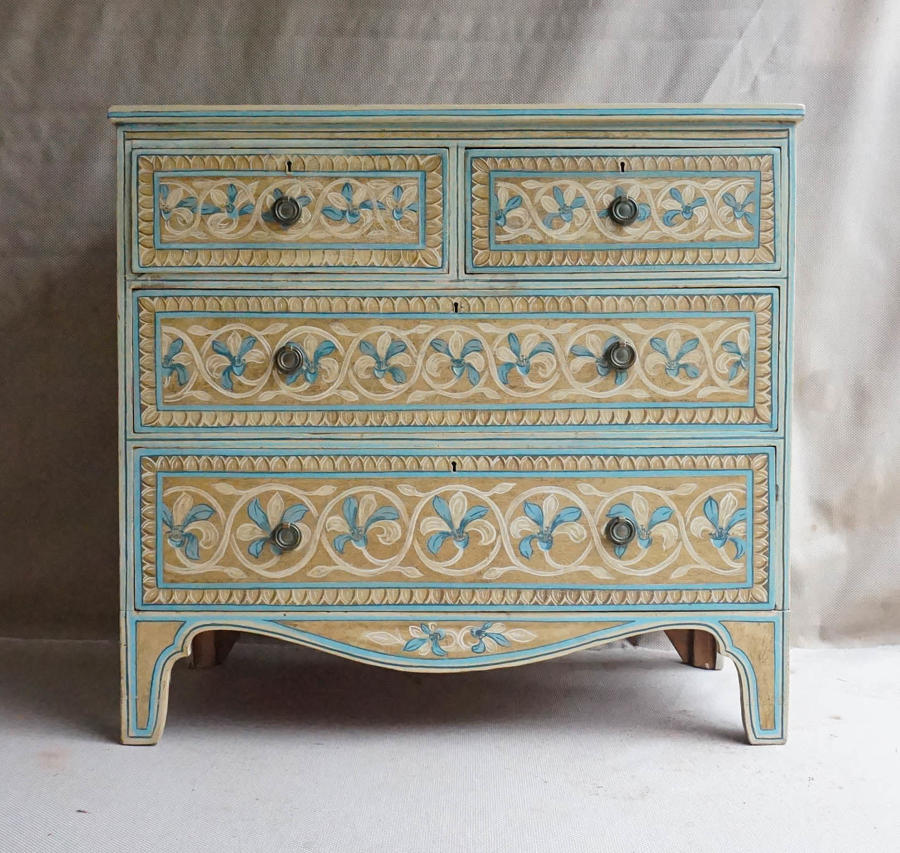 Pine Chest of Drawers c1880