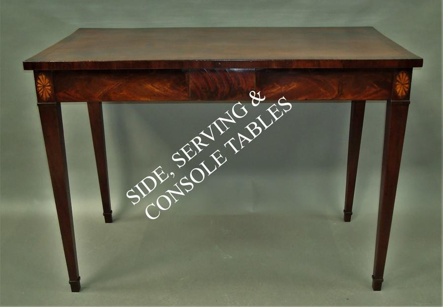 Side/Serving/Console Tables