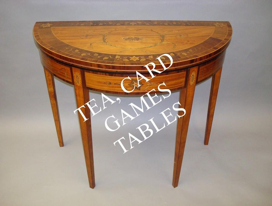 Tea/Card/Games Tables