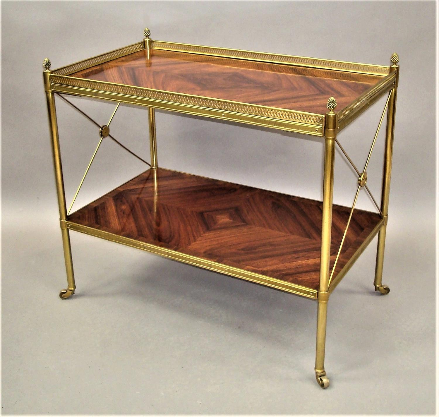 C20th French Kingwood Etagere