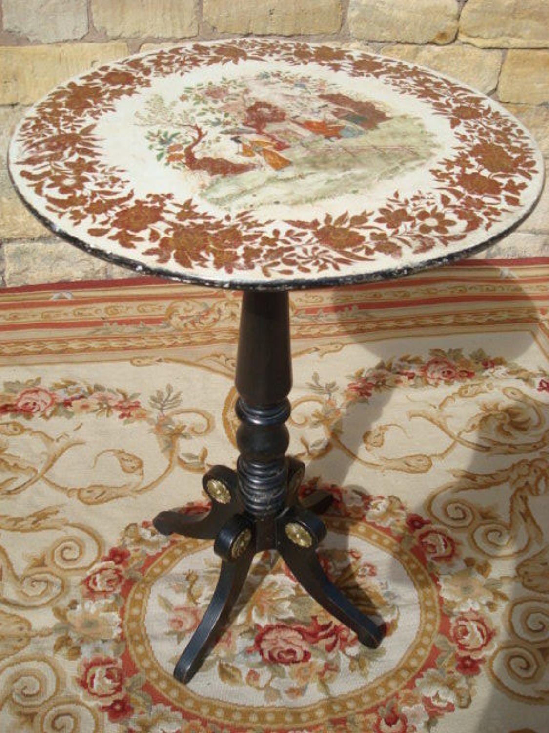 Regency round occasional table