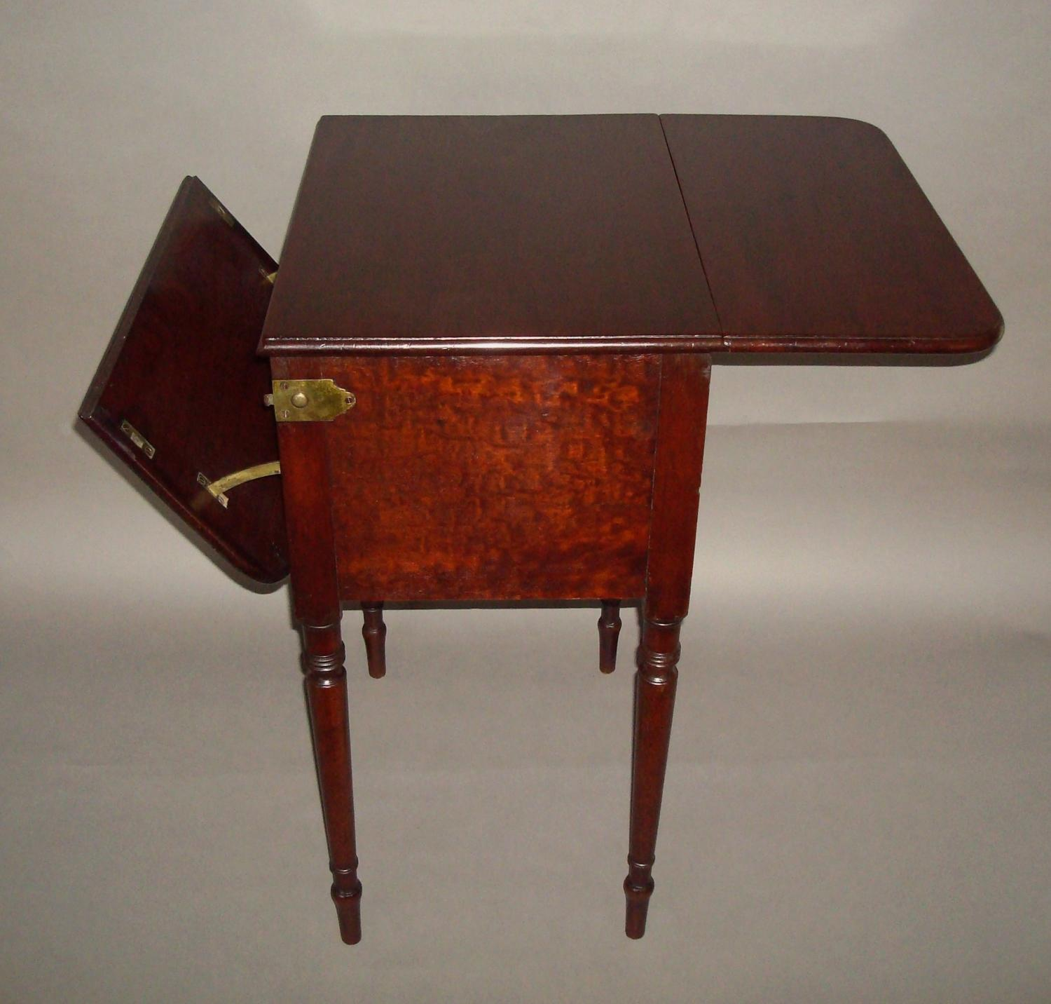 Regency mahogany deception table