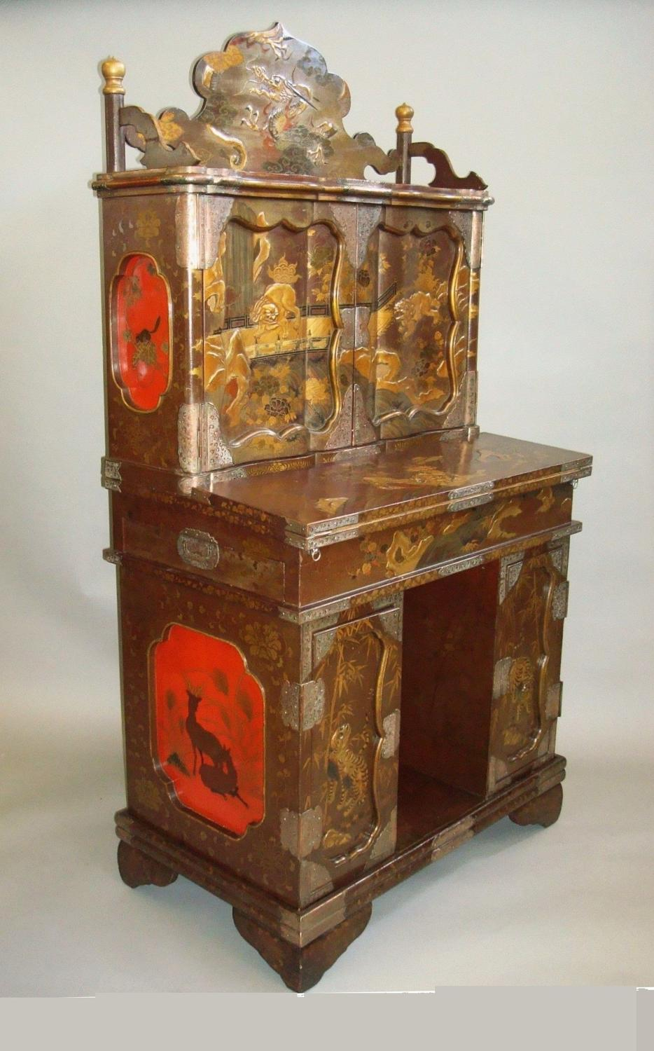 19th century Japanese writing cabinet