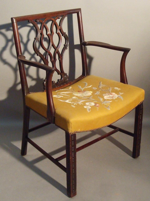 George III armchair