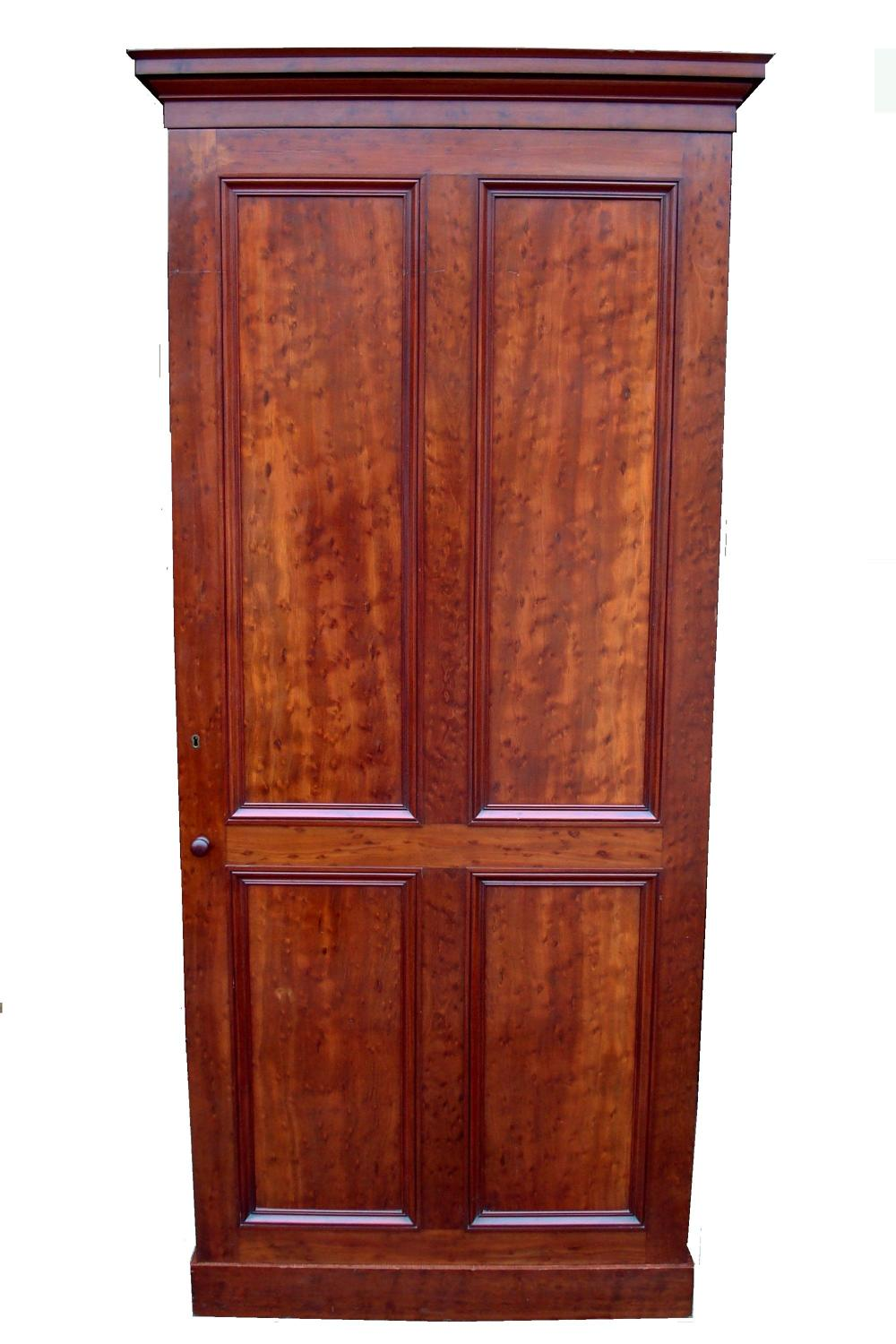 George IV mahogany hall cupboard