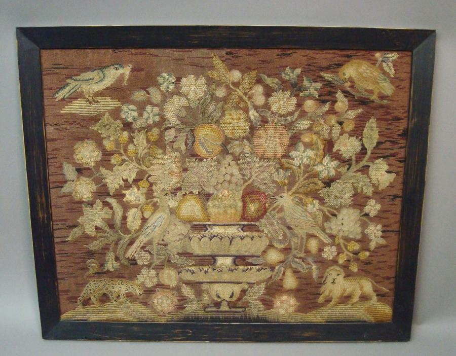 C19th needlework