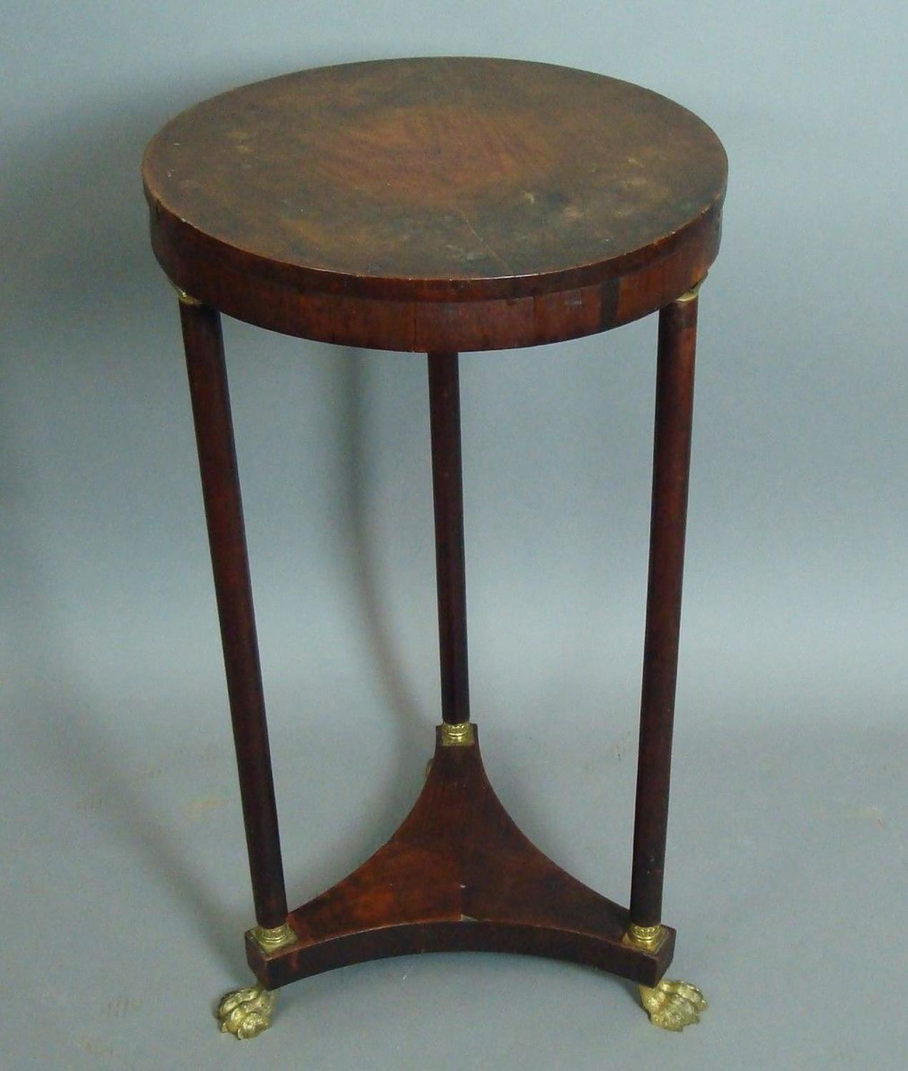 Regency circular occasional table