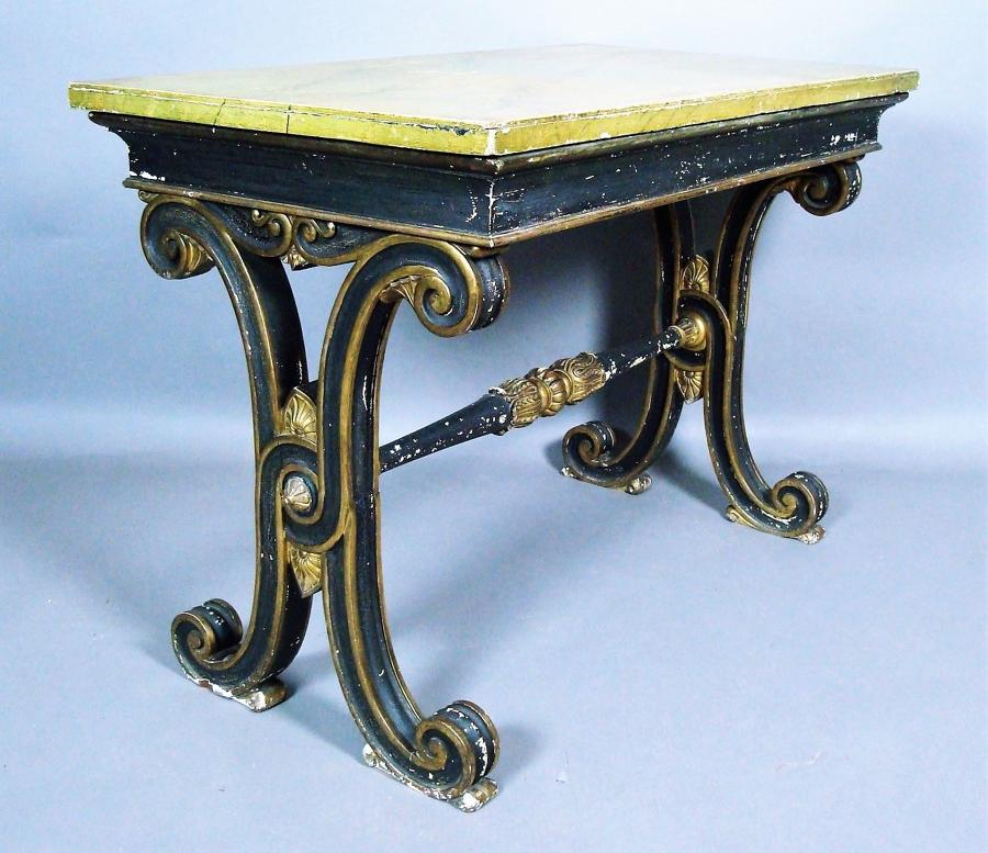 Regency Fonthill Abbey centre table
