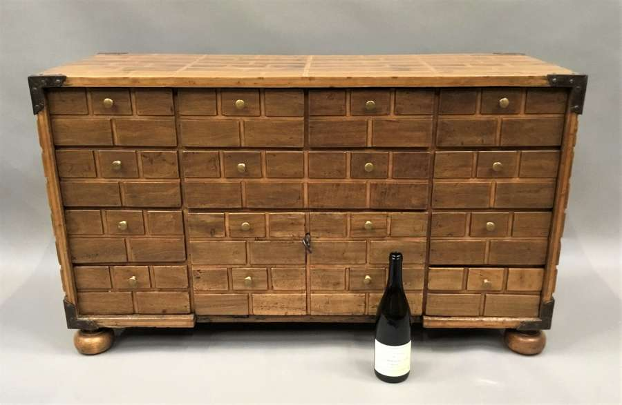 C18th Spanish walnut low cabinet
