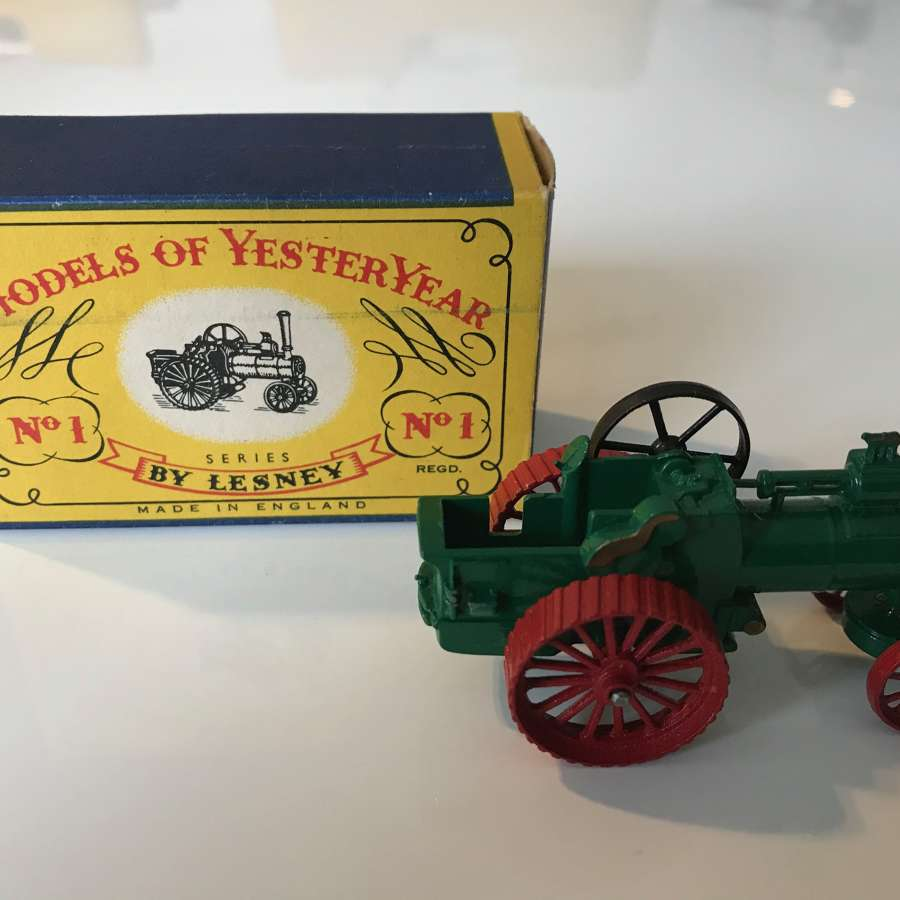 Matchbox toy  Model No1 The Allchin 7-N.H.PTraction engine scale 80:1