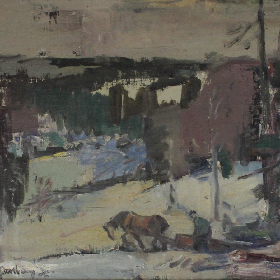 Hugo Carlberg (1880-1943) From Smaland Highlands, Sweden 1930s