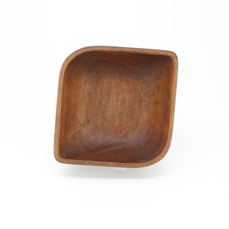 Lauer Jensen Danish teak serving bowl 1960s