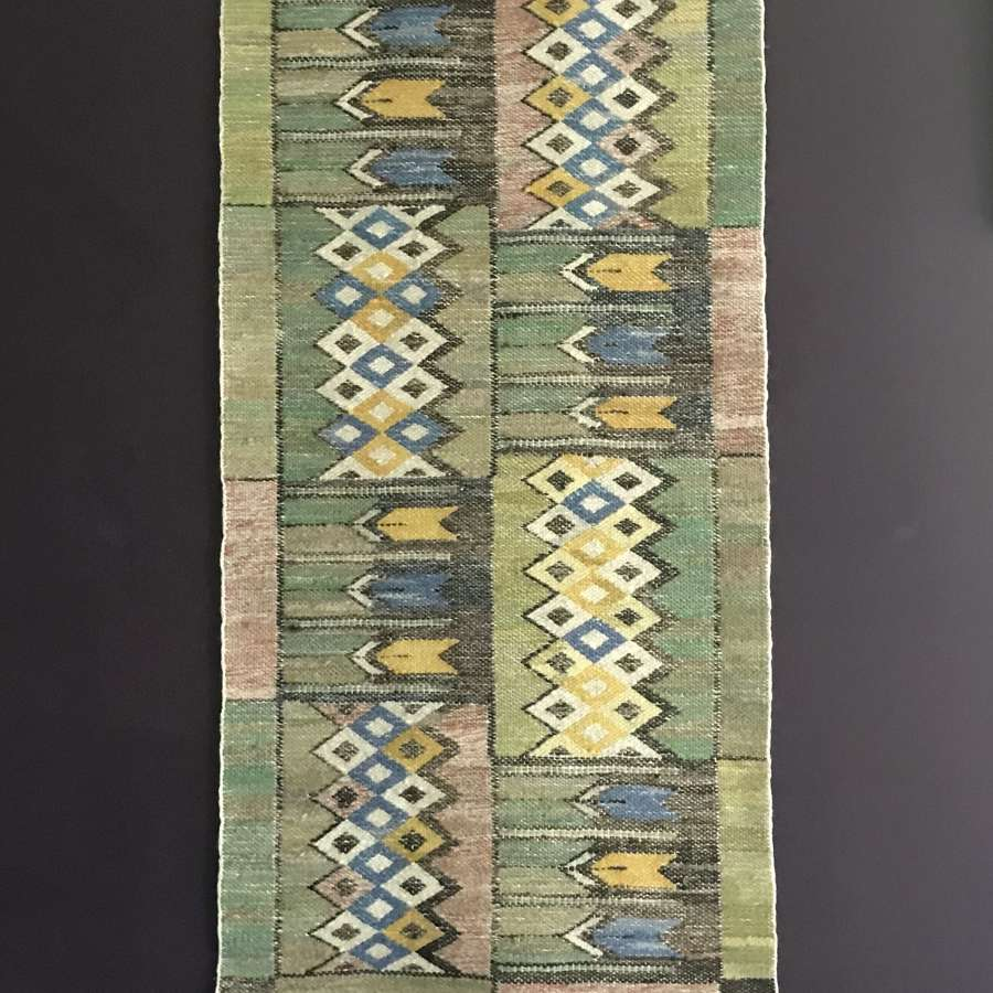 Tapestry in Crocus pattern Märta Måås-Fjetterström Sweden