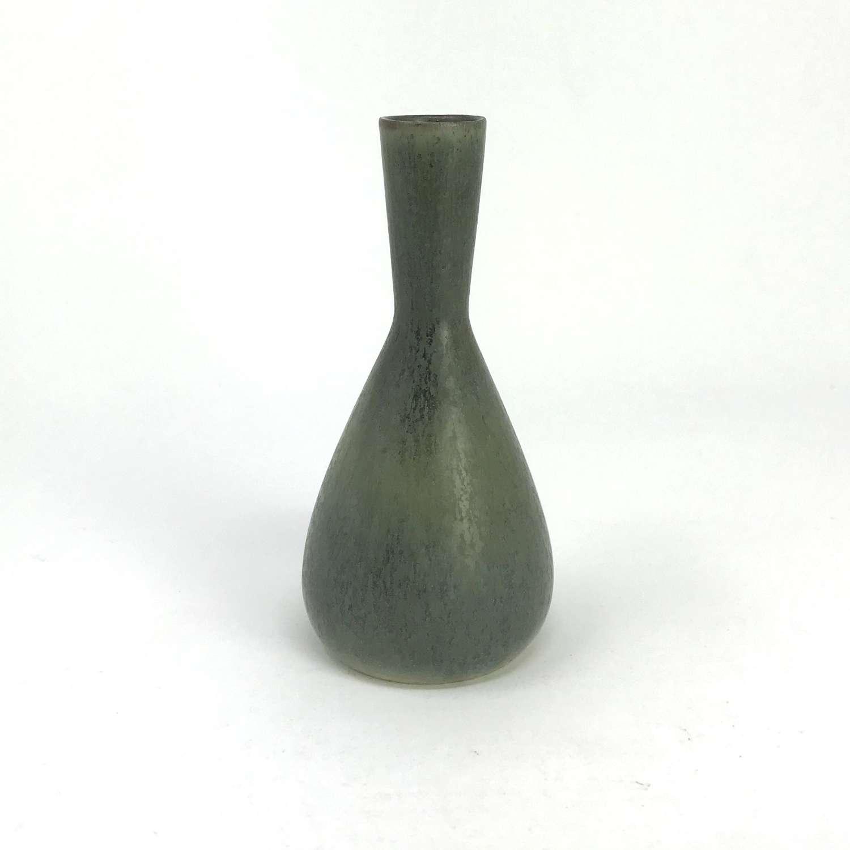 Carl-Harry Stalhane for Rorstrand small green vase 1950s