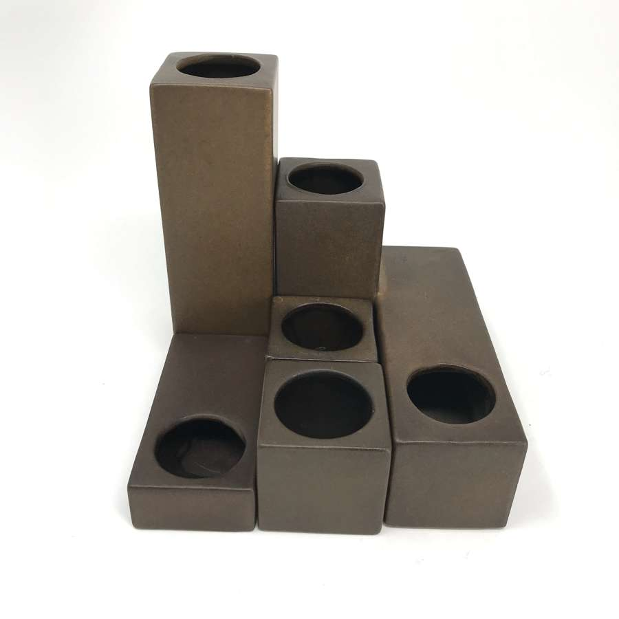 Cor Unum Dutch Modular Ceramic set Zweitse Landsheer 1970s