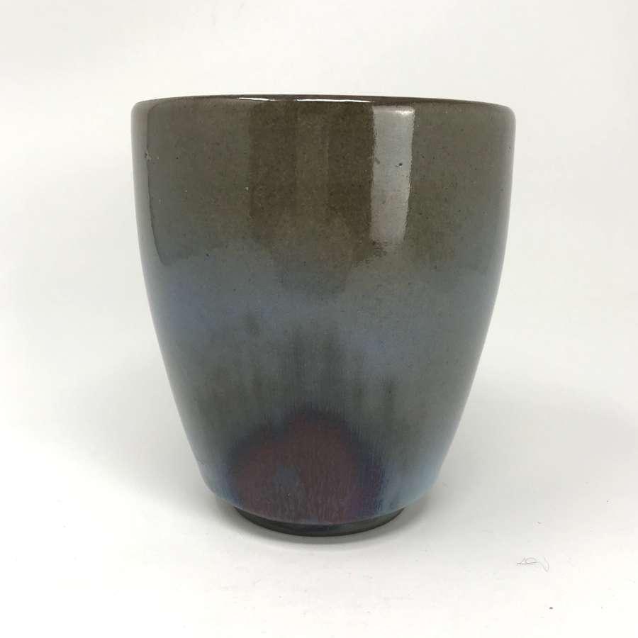 Nils Thorsson Royal Copenhagen Clair de Lune Glaze Pot c1940s