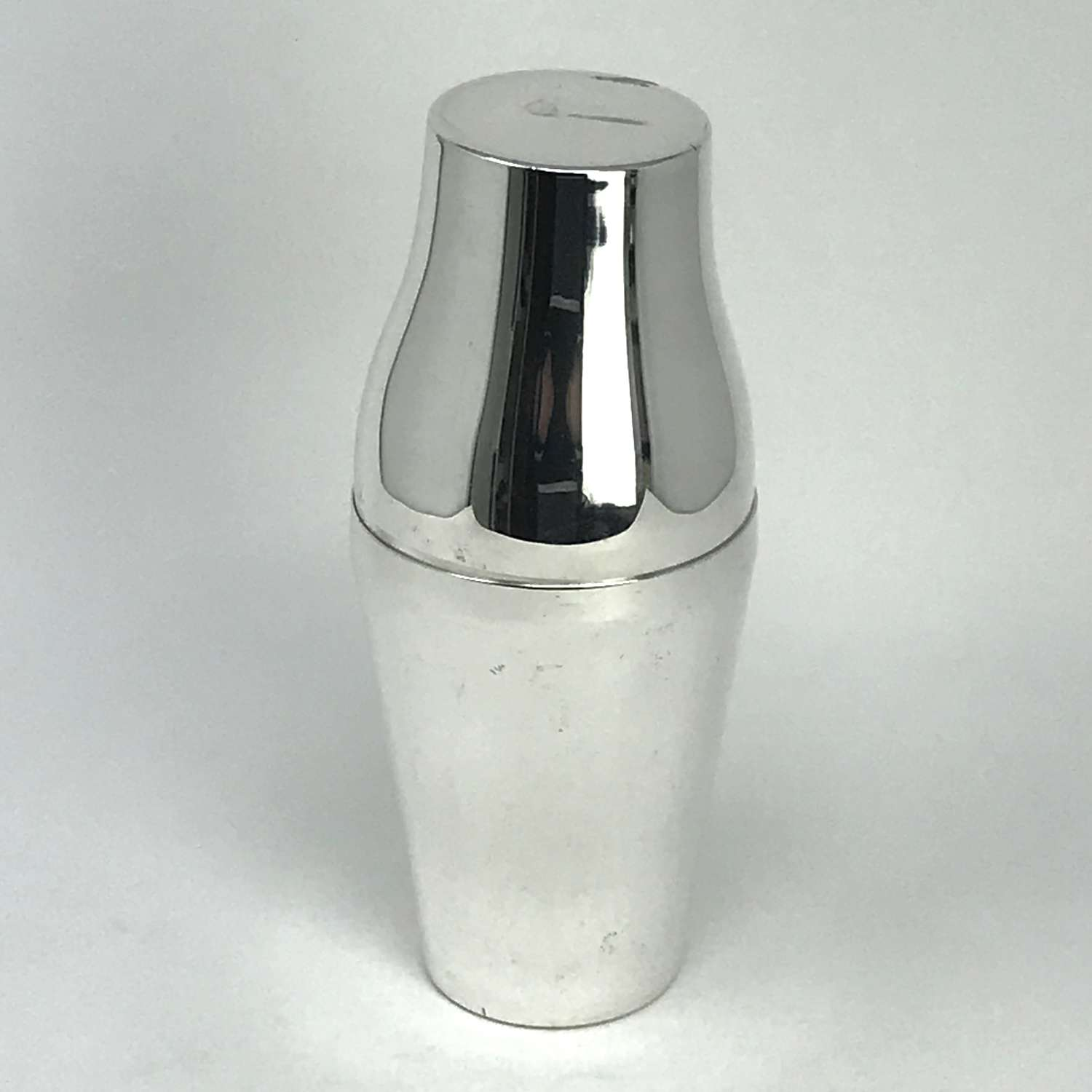 Krupp Berndorf Silver Plated Cocktail Shaker Germany 1930s