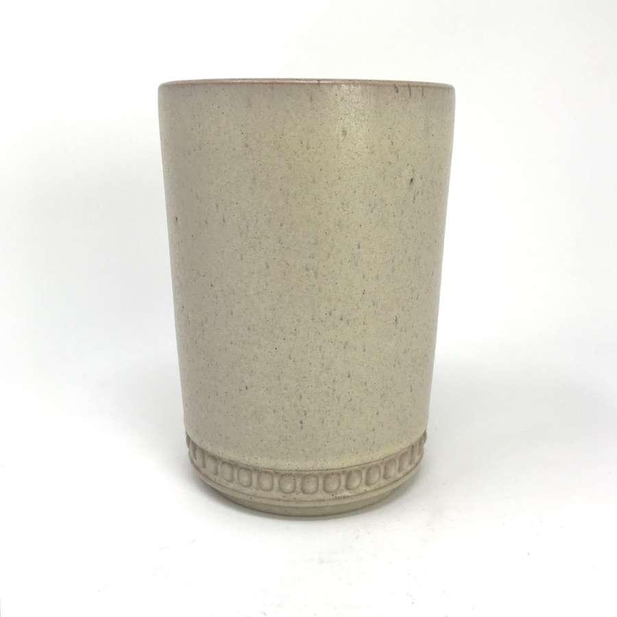 Ake Holm Stoneware Vase Sweden c1960s