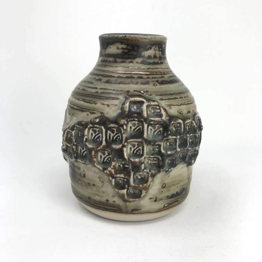 Jorgen Mogensen Squat Vase Royal Copenhagen 1960s