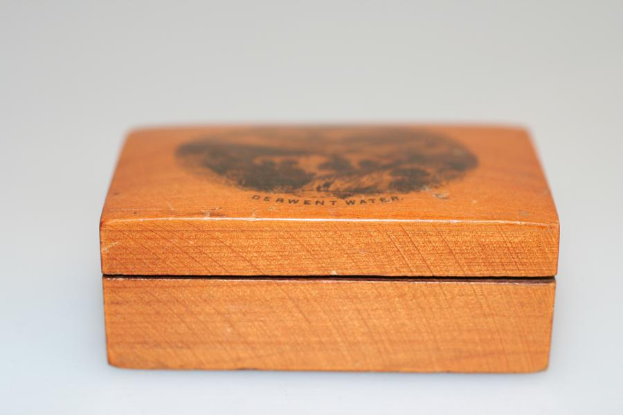 Mauchlineware Stamp Box - Derwent Water