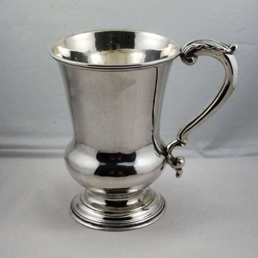 William IV silver pint tankard, London 1834